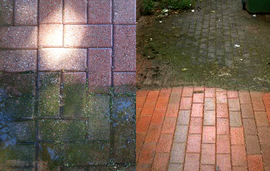 Extreme examples of high pressure cleaning